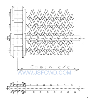 FC152链条网带